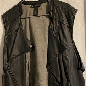 Soft Leather Vest ready Fall